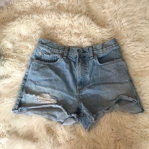 Rag and Bone denim shorts size 26